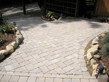 Paver Project Completed May 2009