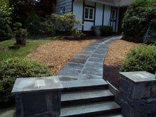 Blue Stone Walkway (after)